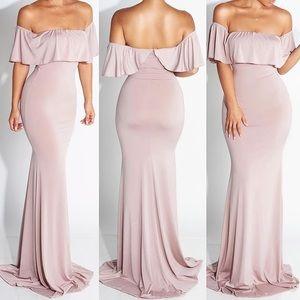 Dresses & Skirts - JLUXLABEL Maxi Dress / Formal Mauve Dress
